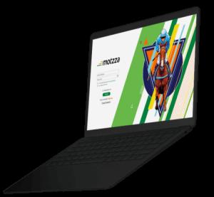 motzza-web-app-development on laptop